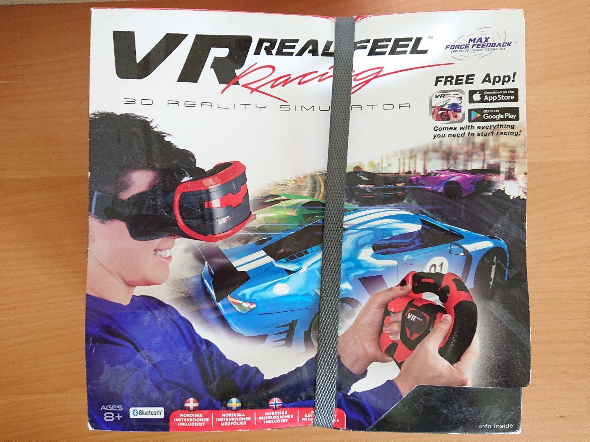 3D bilsimulator - VR Real Feel Racing - Ratt +    (350630307) ᐈ Köp