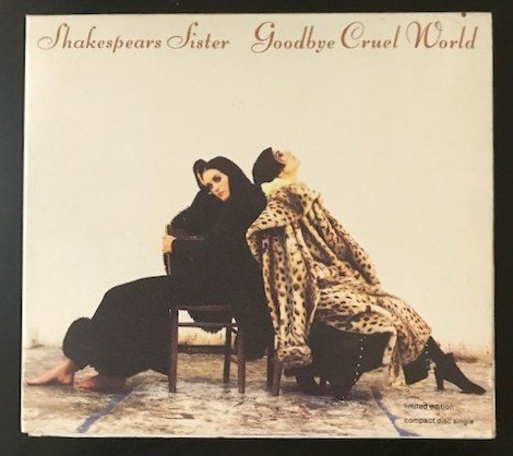 SHAKESPEARS SISTER,  Goodbye cruel world