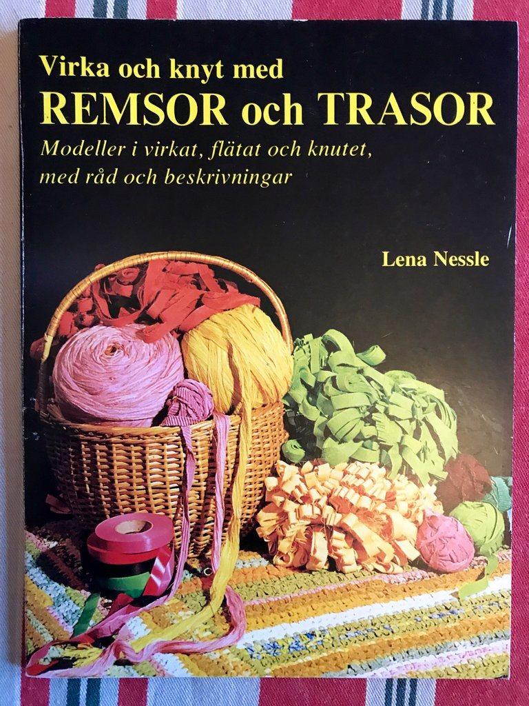 VIRKA OCH KNYT MED REMSOR OCH TRASOR Lena Nessle 1974