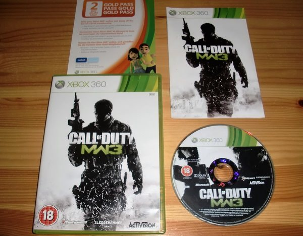 Xbox 360: Call of Duty Modern Warfare 3