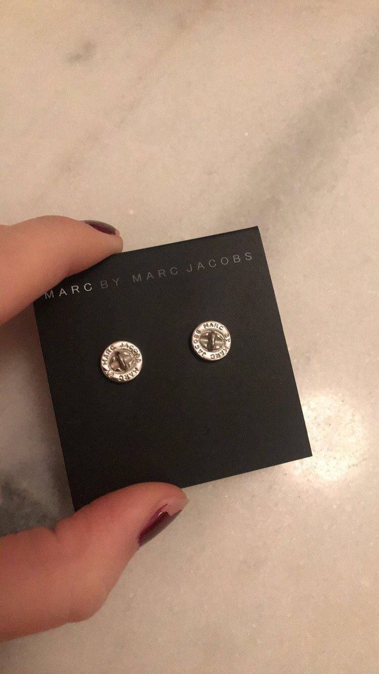 Marc jacobs örhängen silver