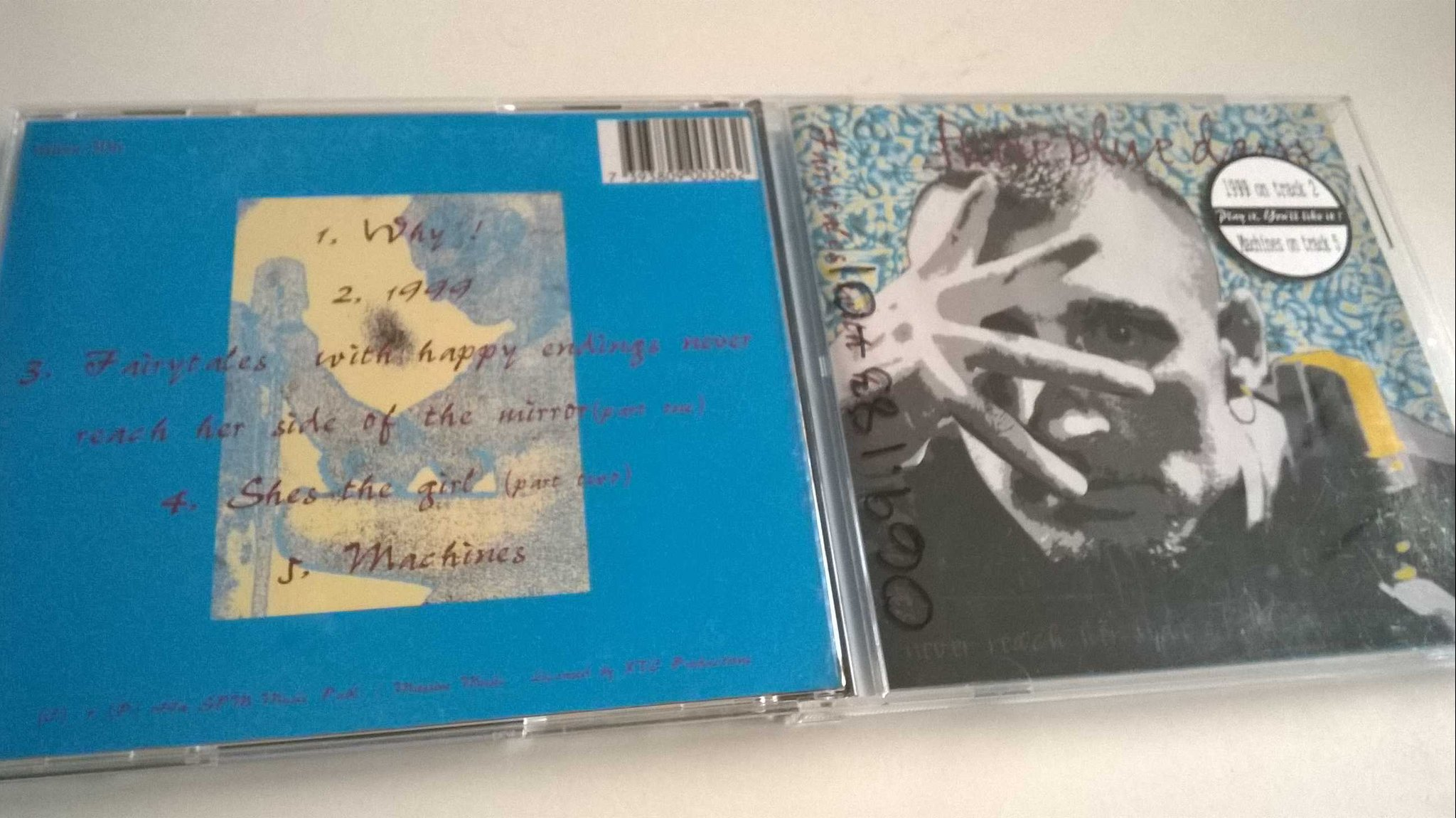 These Blue Days - Fairytales With Happy Endings, CD, rare!
