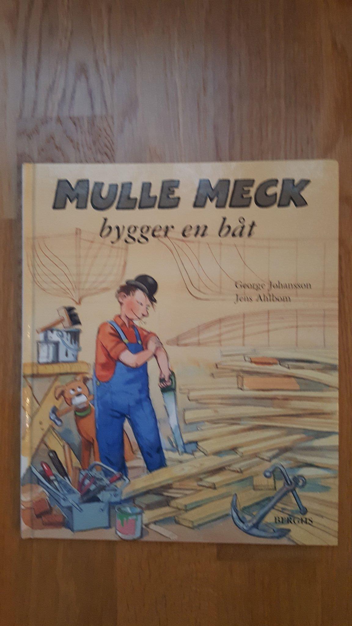 Mulle Meck Bygger En Bat George Johansson Jen 367566517
