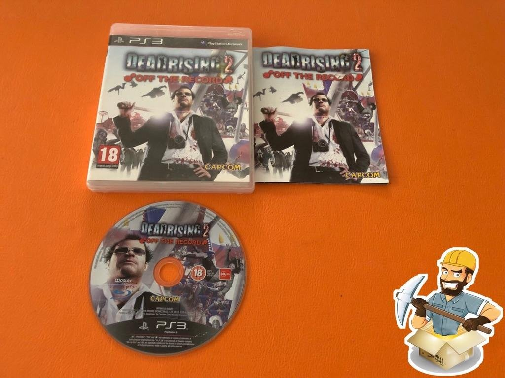 Dead Rising 2 Off The Record NORDISK UTGÅVA KOMPLETT PS3 Sony Playstation 3