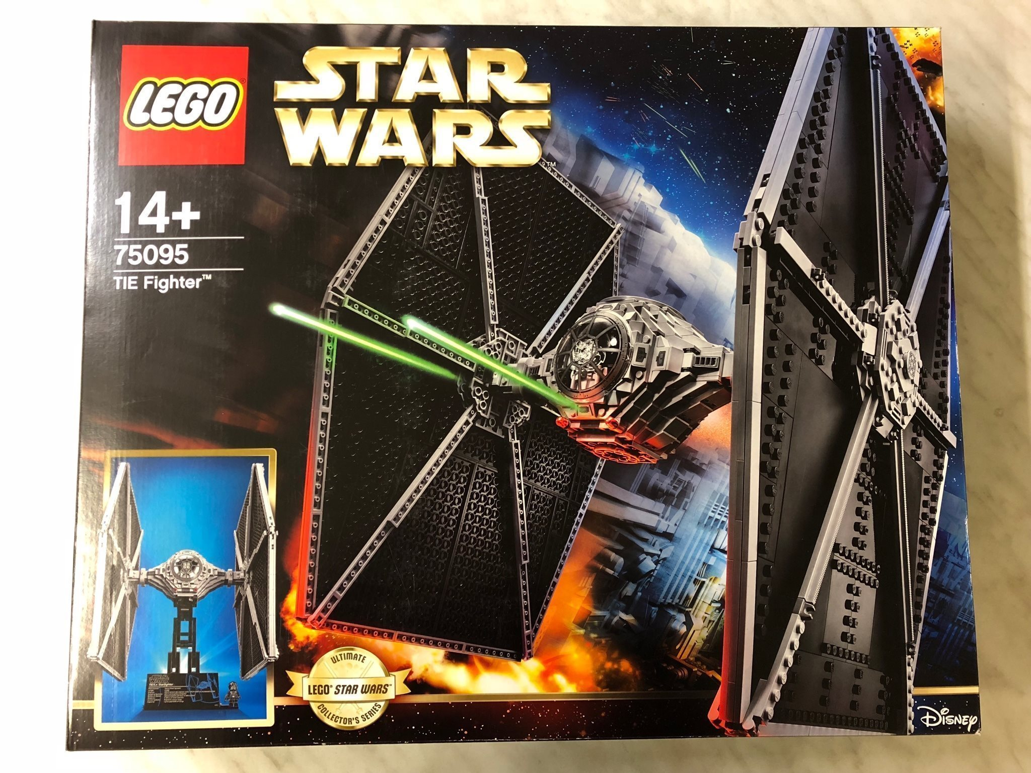 LEGO Star Wars 75095 Tie Fighter UCS - Ny