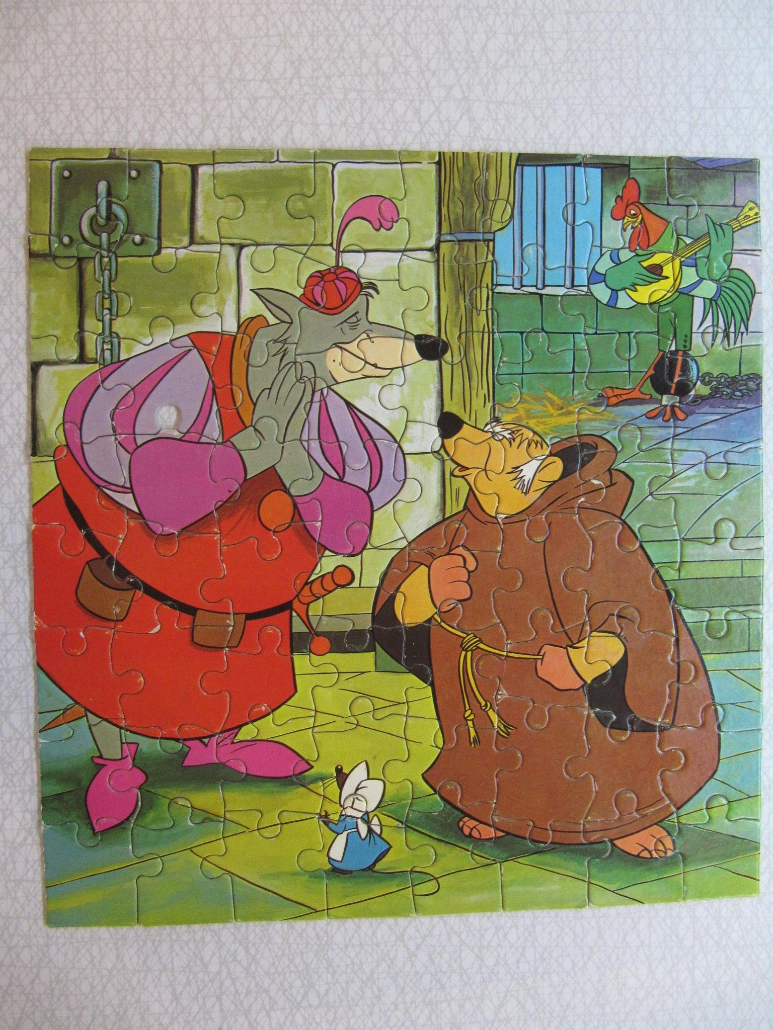 Pussel 64 Bitar Robin Hood 352969634 ᐈ Köp På Tradera