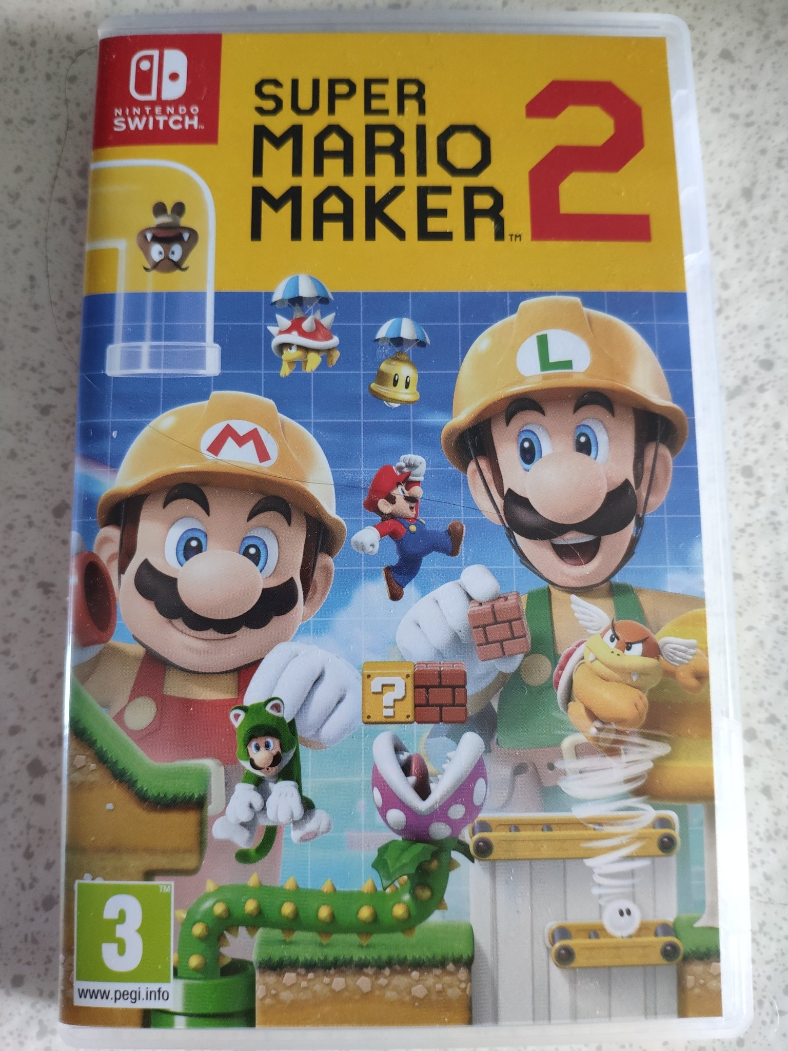 Super Mario Maker 2 - Nintendo Switch 4 Nyskick! 1kr 1 kr Se bild!