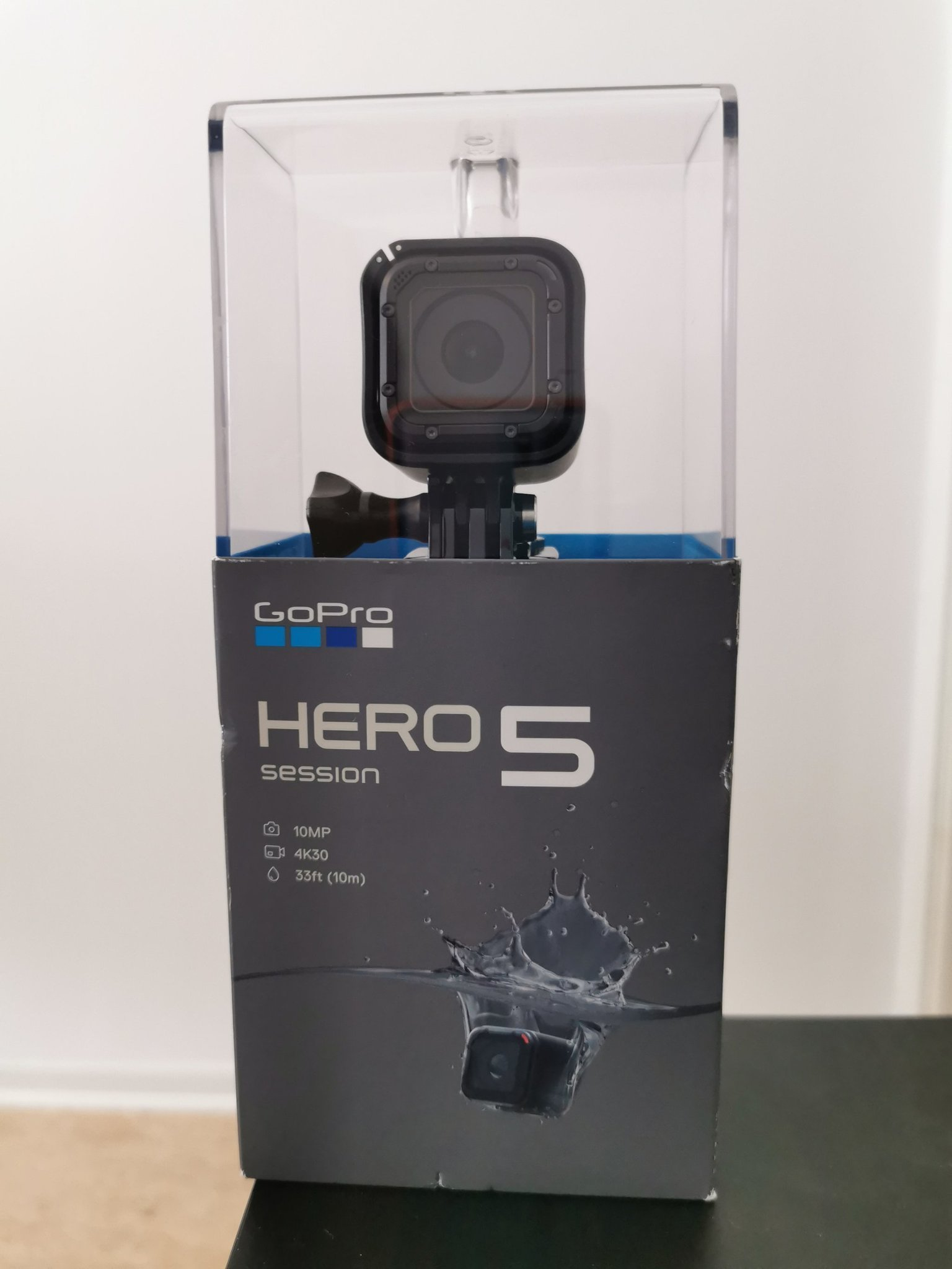 Oöppnad GoPro HERO5 Session