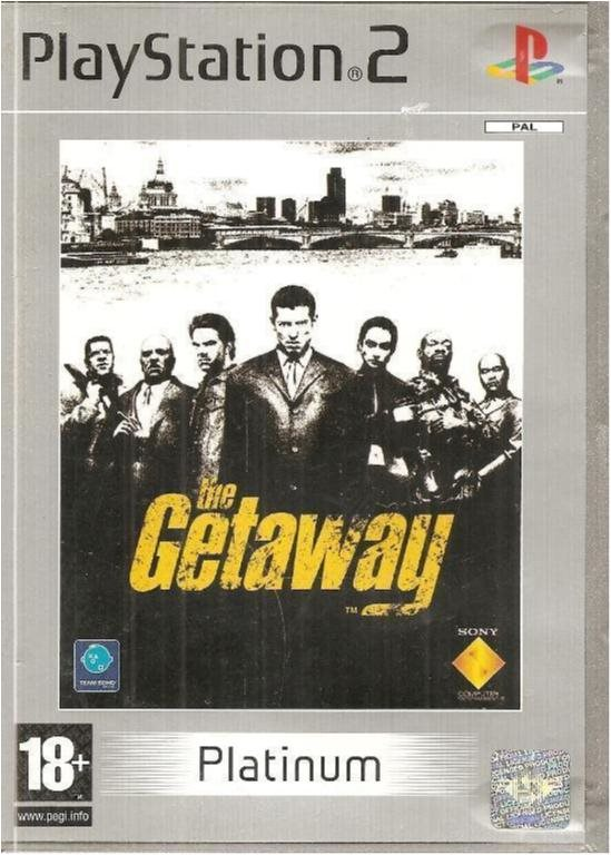 THE GETAWAY   ( PS2  SPEL)