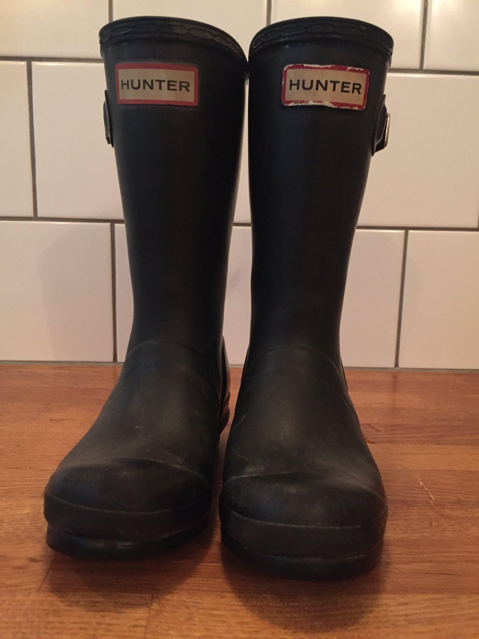 Hunter svarta gummistövlar 30 (340154568) ᐈ Köp på Tradera 4d8b070905966