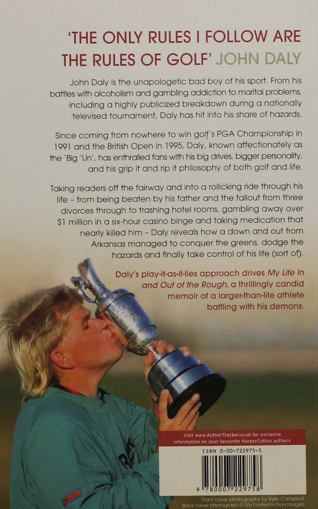 My life life life in and out of the rough, John Daly (Eng) 4fa0e6