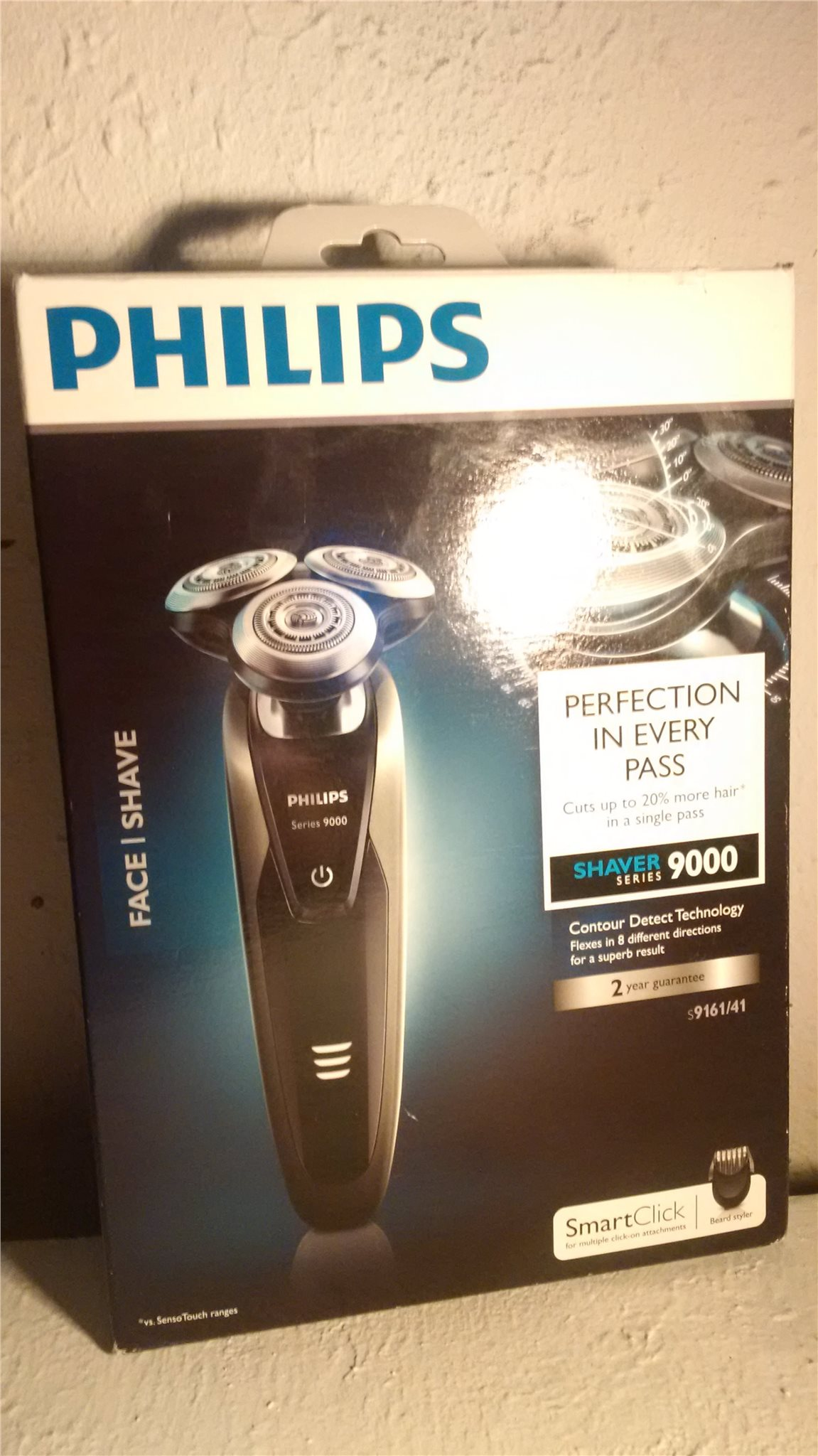 PHILIPS PRO 9000 s9161 41 shaver Ny i oöppnad förpackning trimmer rakapparat 080062724afa3