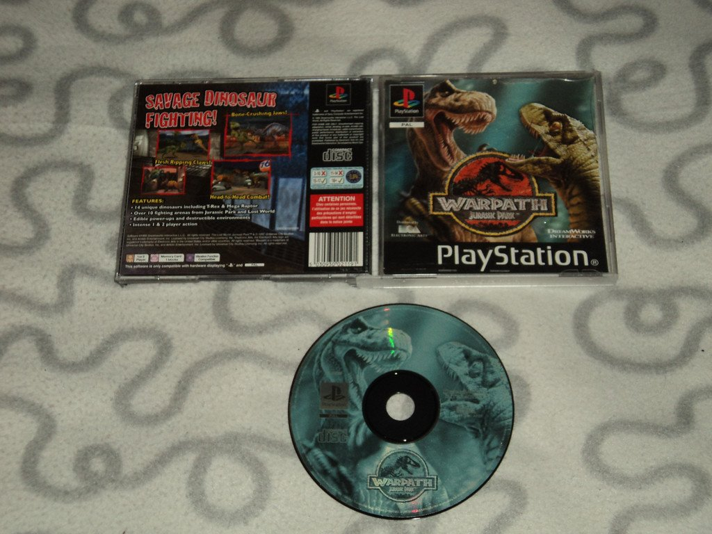 PS1 Jurassic Park Warpath