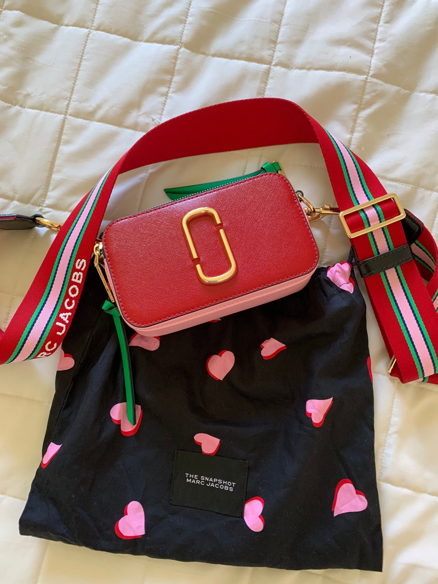 Marc Jacobs snapshot väska
