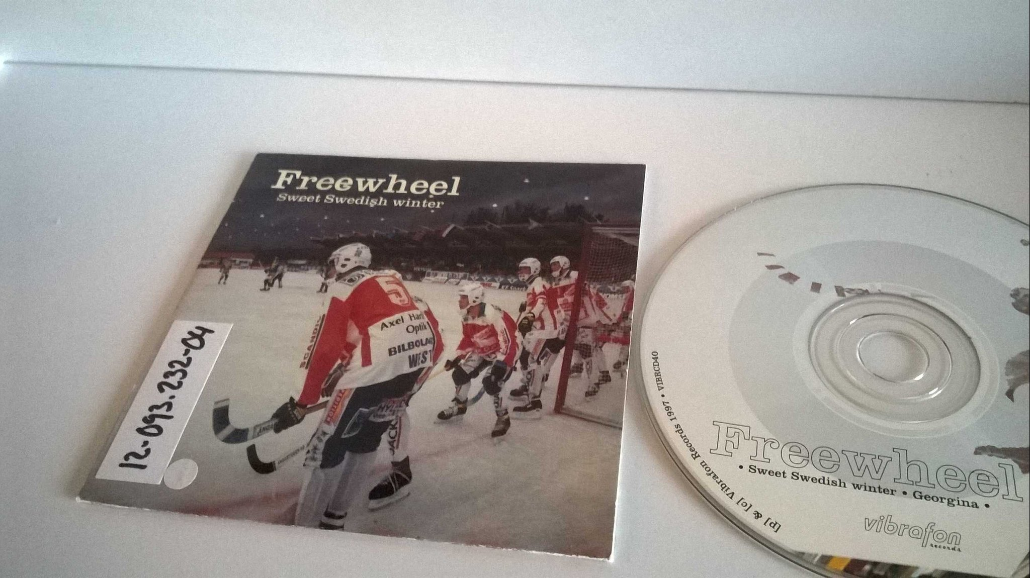 Freewheel - Sweet swedish winter / Georgina, single CD