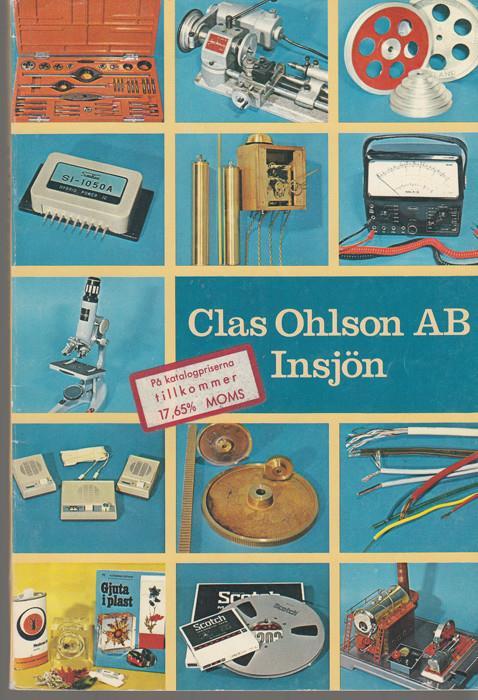Liten Kastrull Clas Ohlson ~ Clas Ohlson AB Insjön Katalog nr 59 1970 71 Priskurant på Tradera com