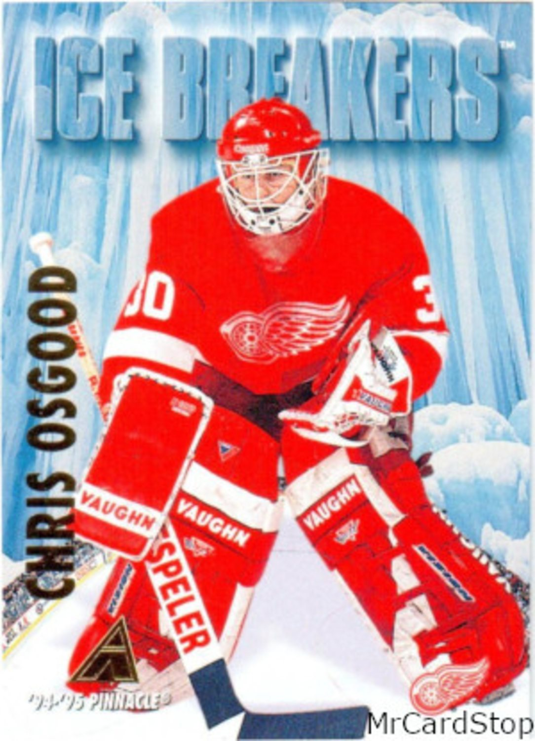 1994-95 Pinnacle 471 Chris Osgood IB Detroit Red Wings