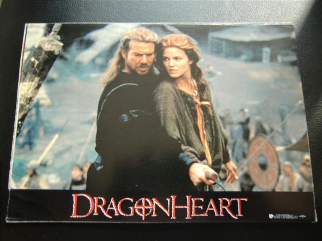 DRAGONHEART Sean Connery ÅR 1996 FOTO 7