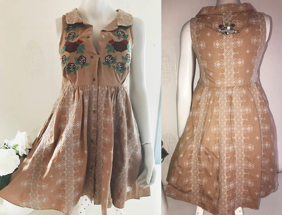 odd molly klänning spets