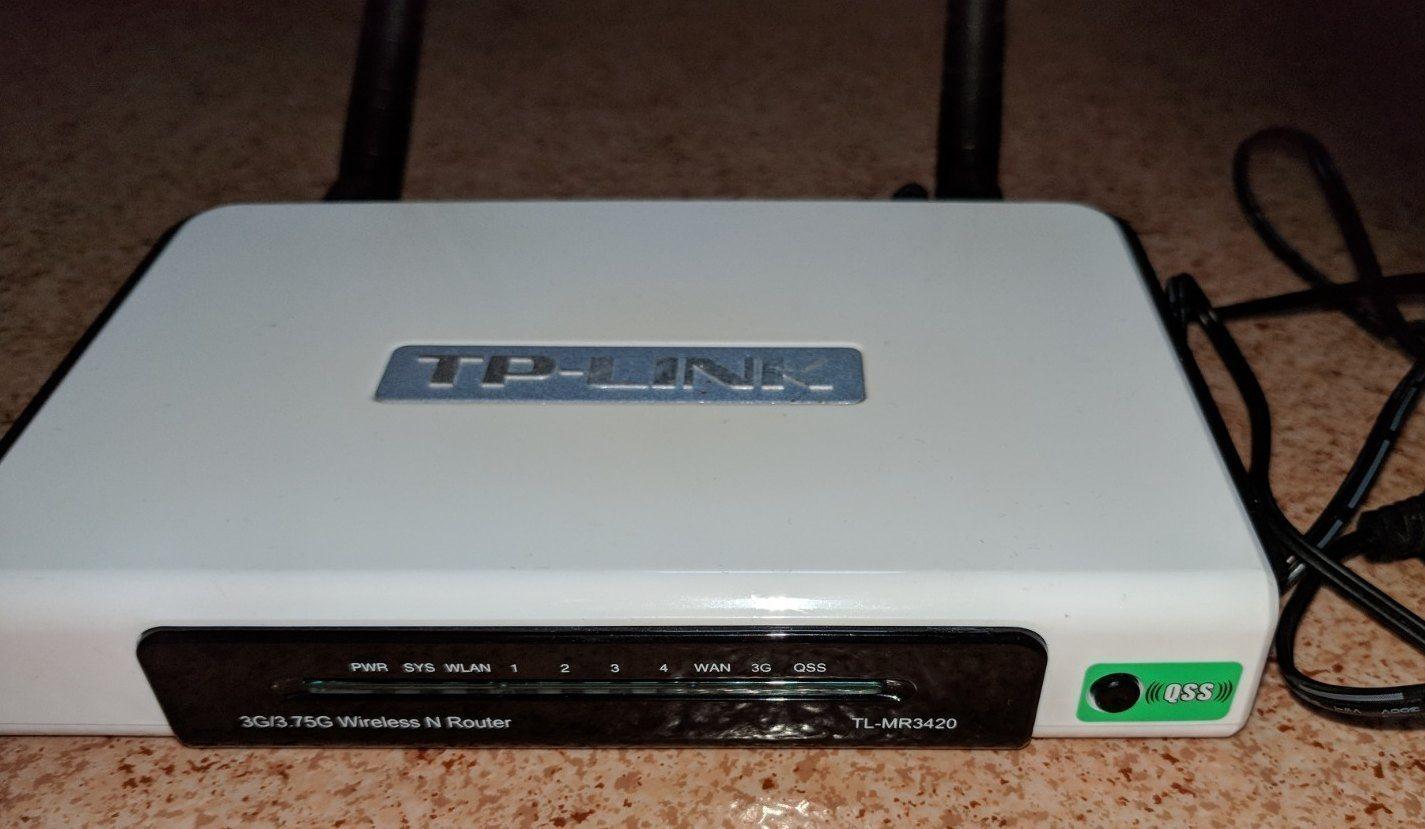 3g Router Tp Link Tl Mr3420 Kan Anvndas 315176221 Kp P Tplink Wireless N Som Vanlig Ocks