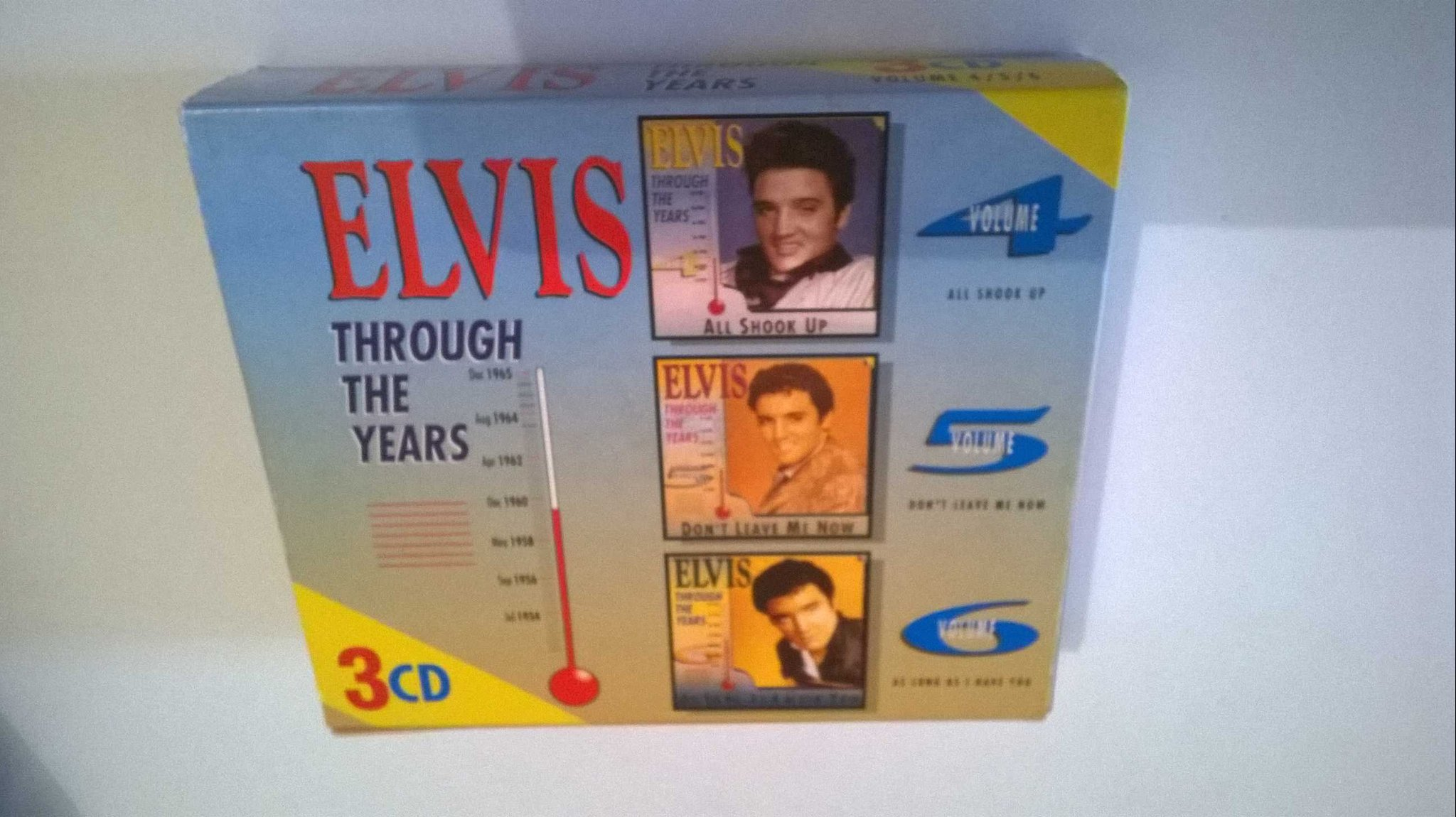 Elvis Presley - Through The Years 3 CD, box set