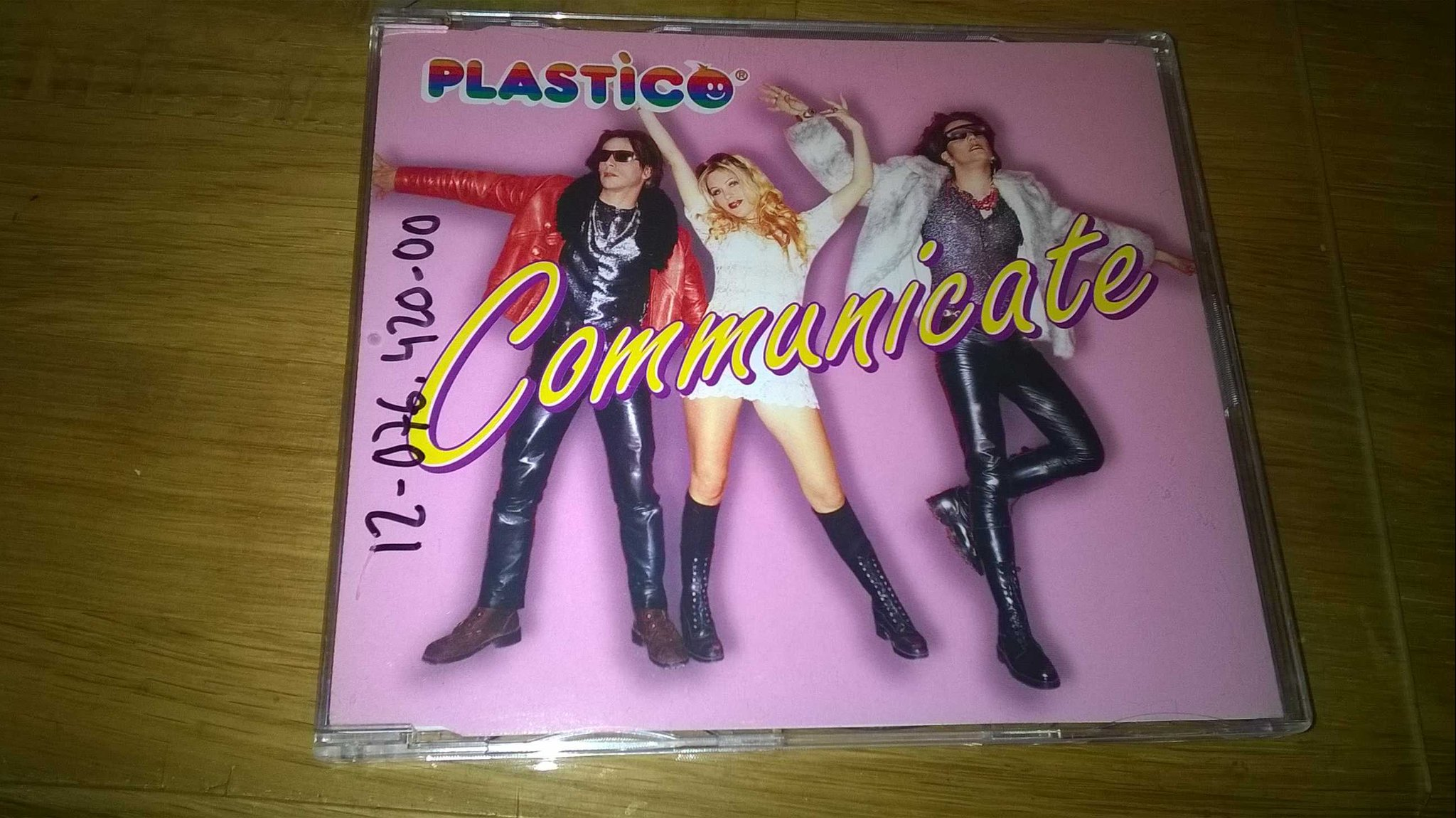 Plastico - Communicate, CD, Maxi-Single