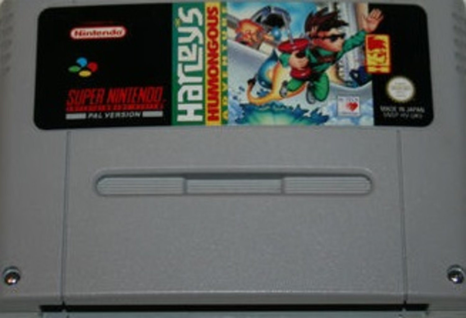 Harleys Humongous Adventure - Super Nintendo