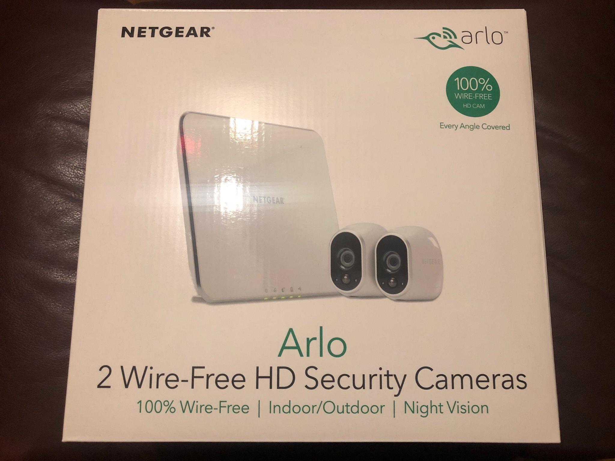 Arlo Övervakningssytem med två HD-kameror