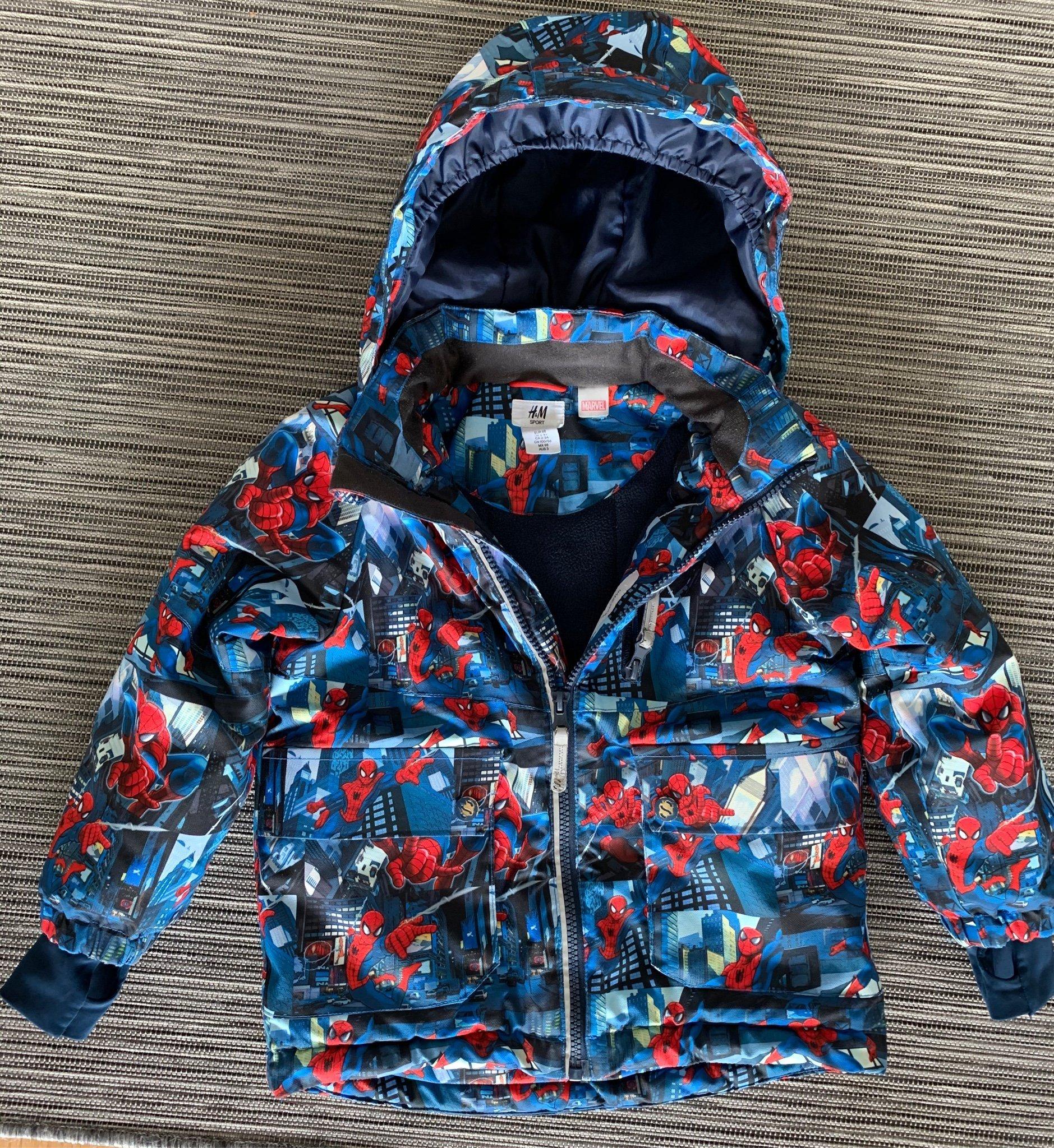Vinterjacka Marwel Spider Man, Stl 98 (426783732) ᐈ Köp på