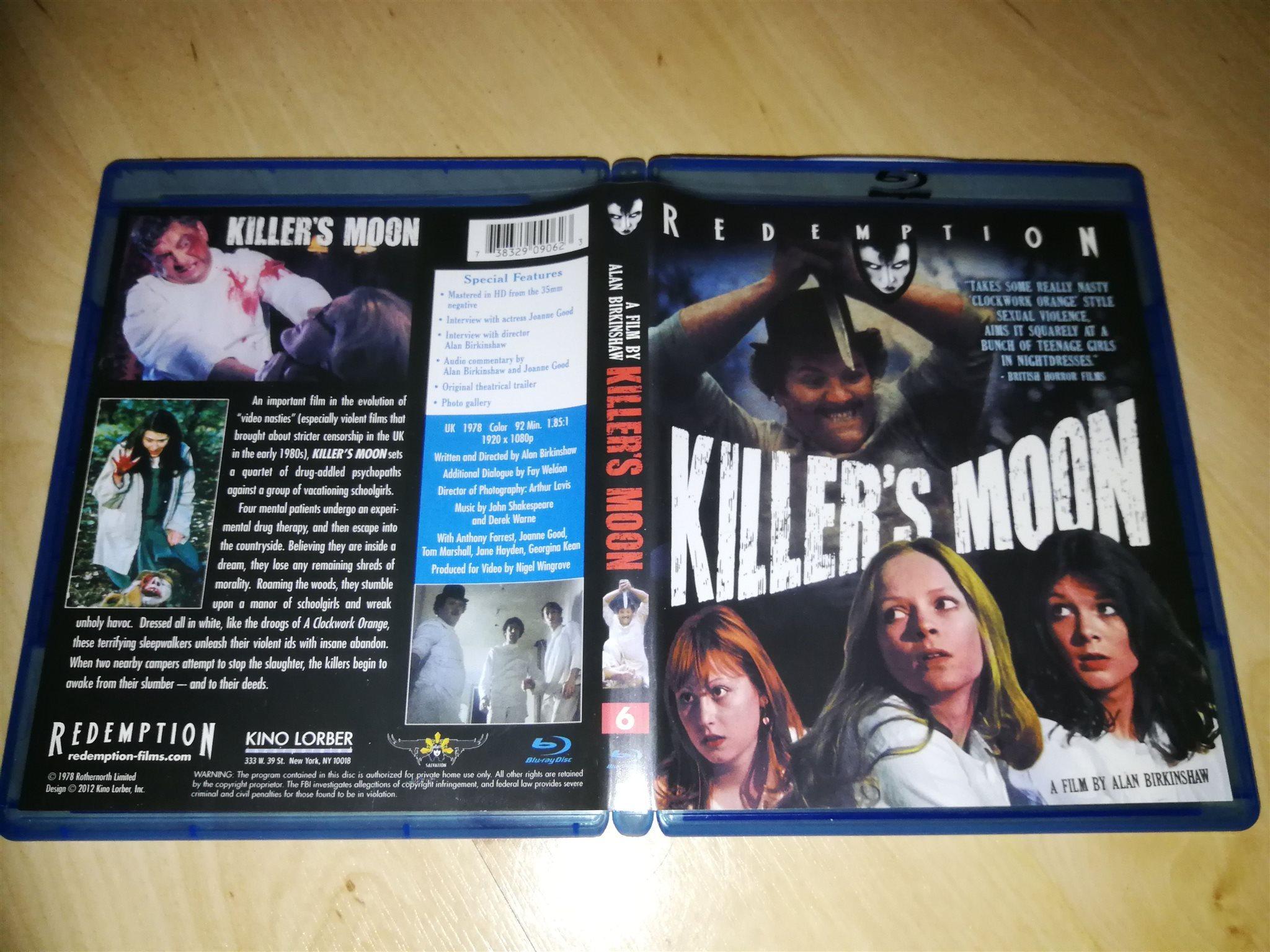 Killers Moon (Kino Lorber) (337721090) ᐈ Köp på Tradera