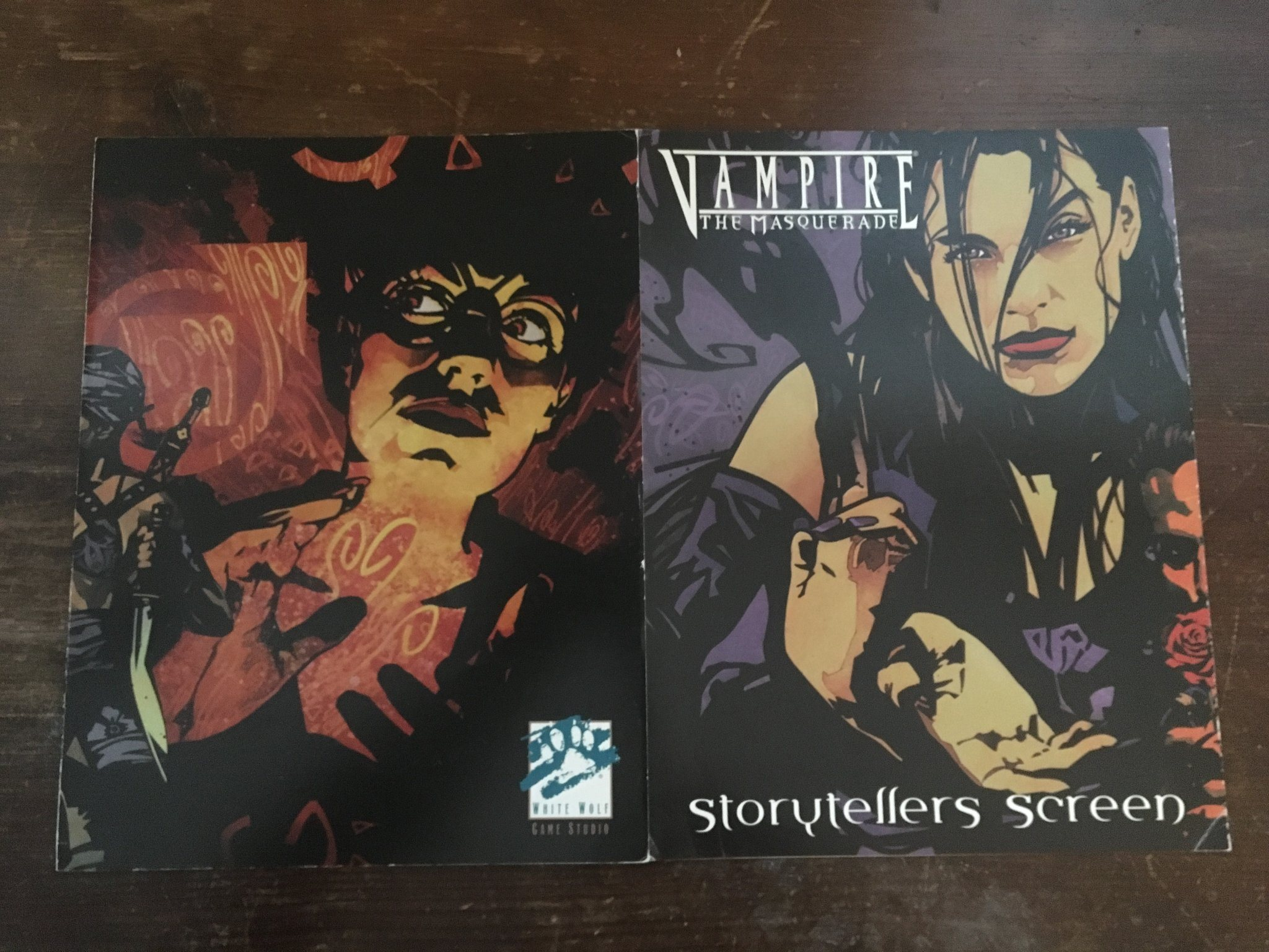 Vampire the Masquerade Storyteller's Screen (Revised)