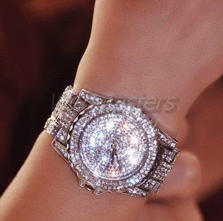 klockor från glitter