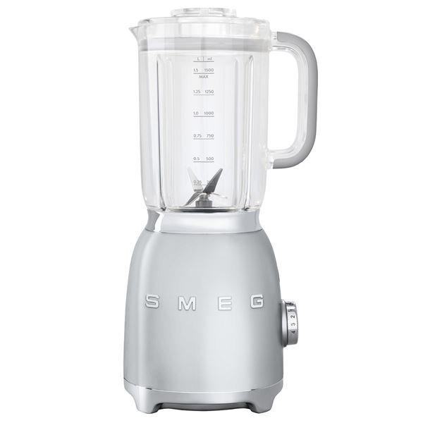 Berömda SMEG Blender Mixer BLF01 färg Silvergrå silver .. (364757817) ᐈ IW-43