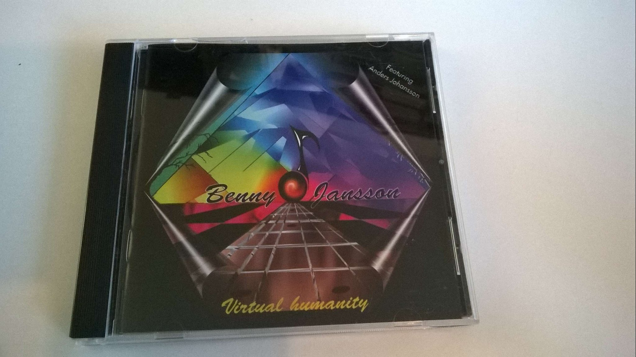 Benny Jansson Virtual Humanity, CD
