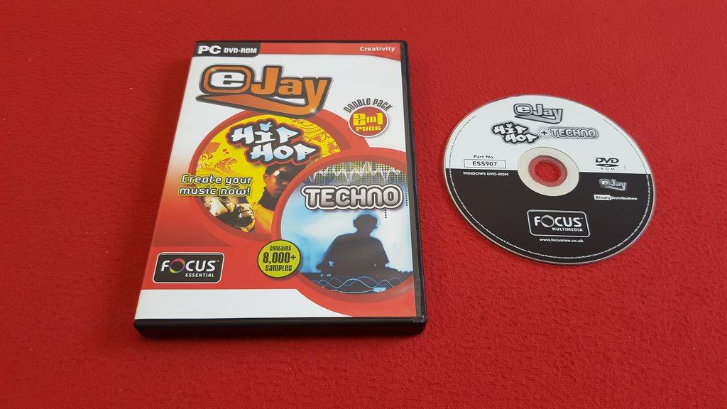 EJAY HIP HOP + TECHNO till PC