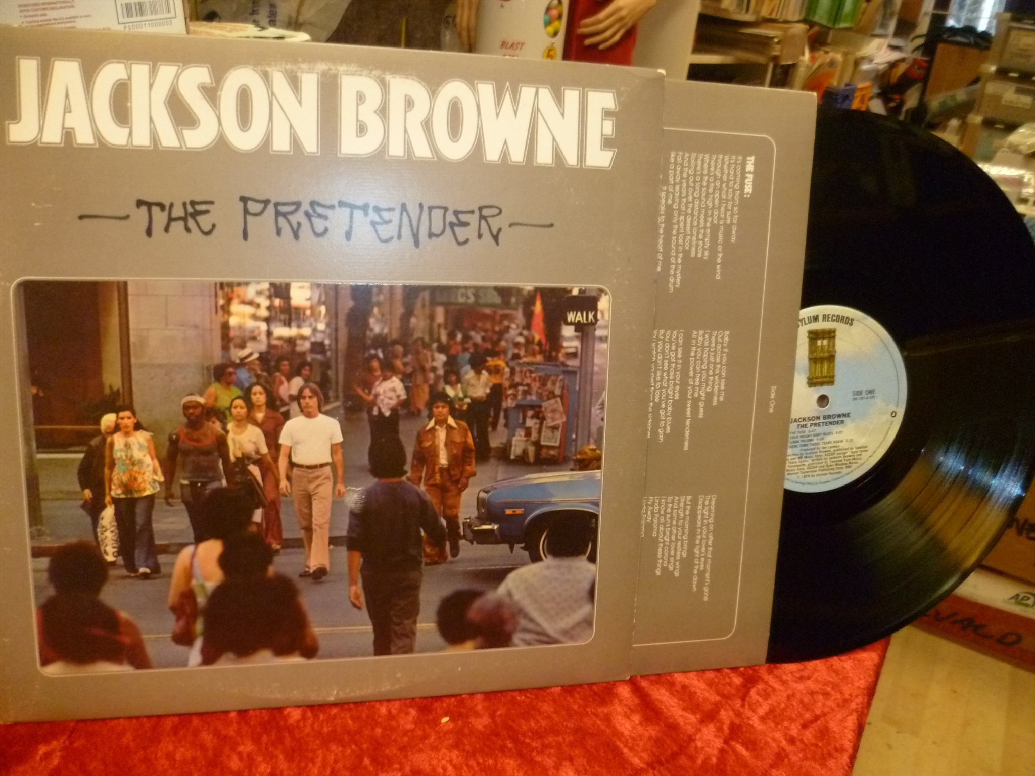 JACKSON BROWN , LP , THE PRETENDER