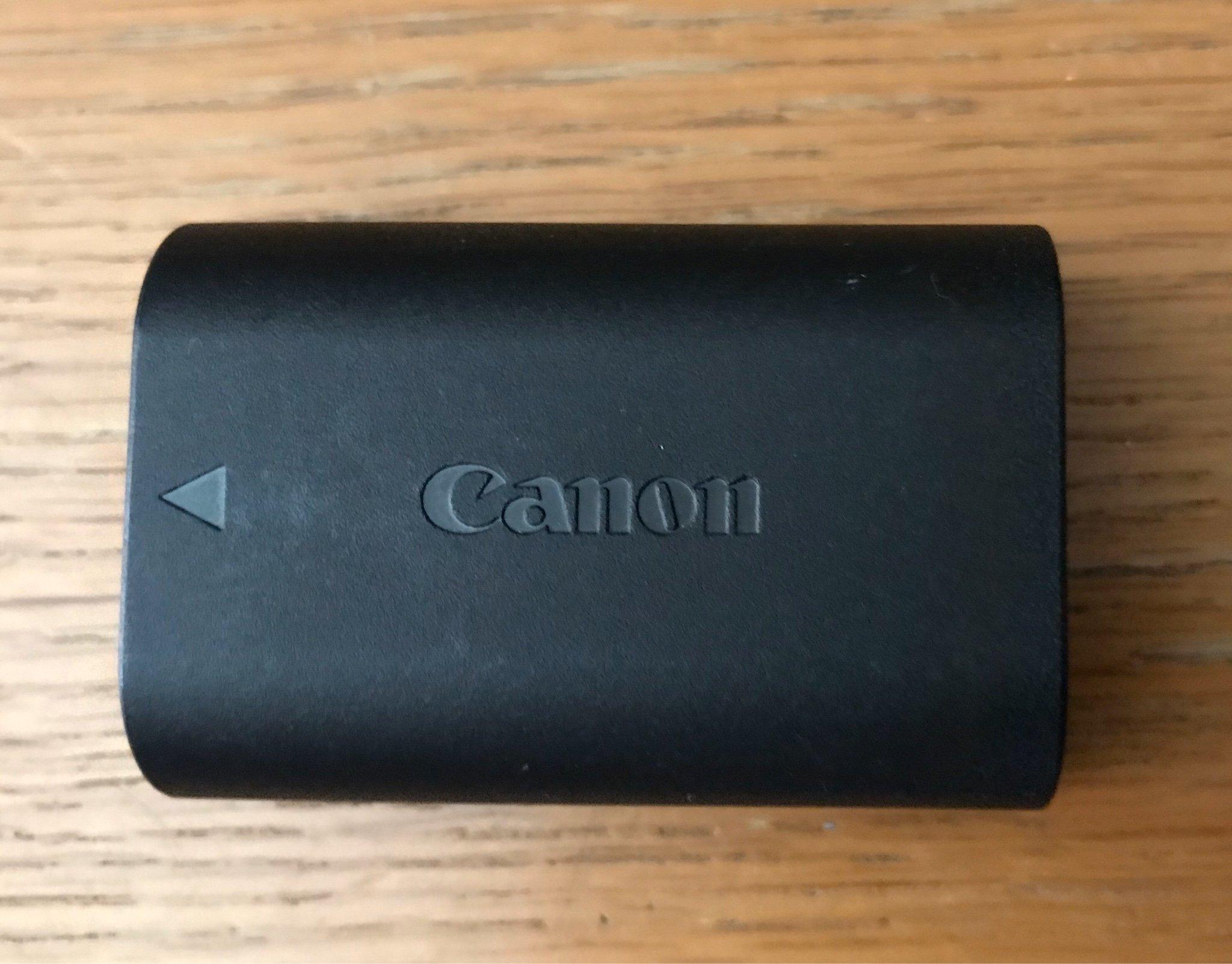 Canon LP E6 orginal kamerabatteri, passar Canon.. (358262708