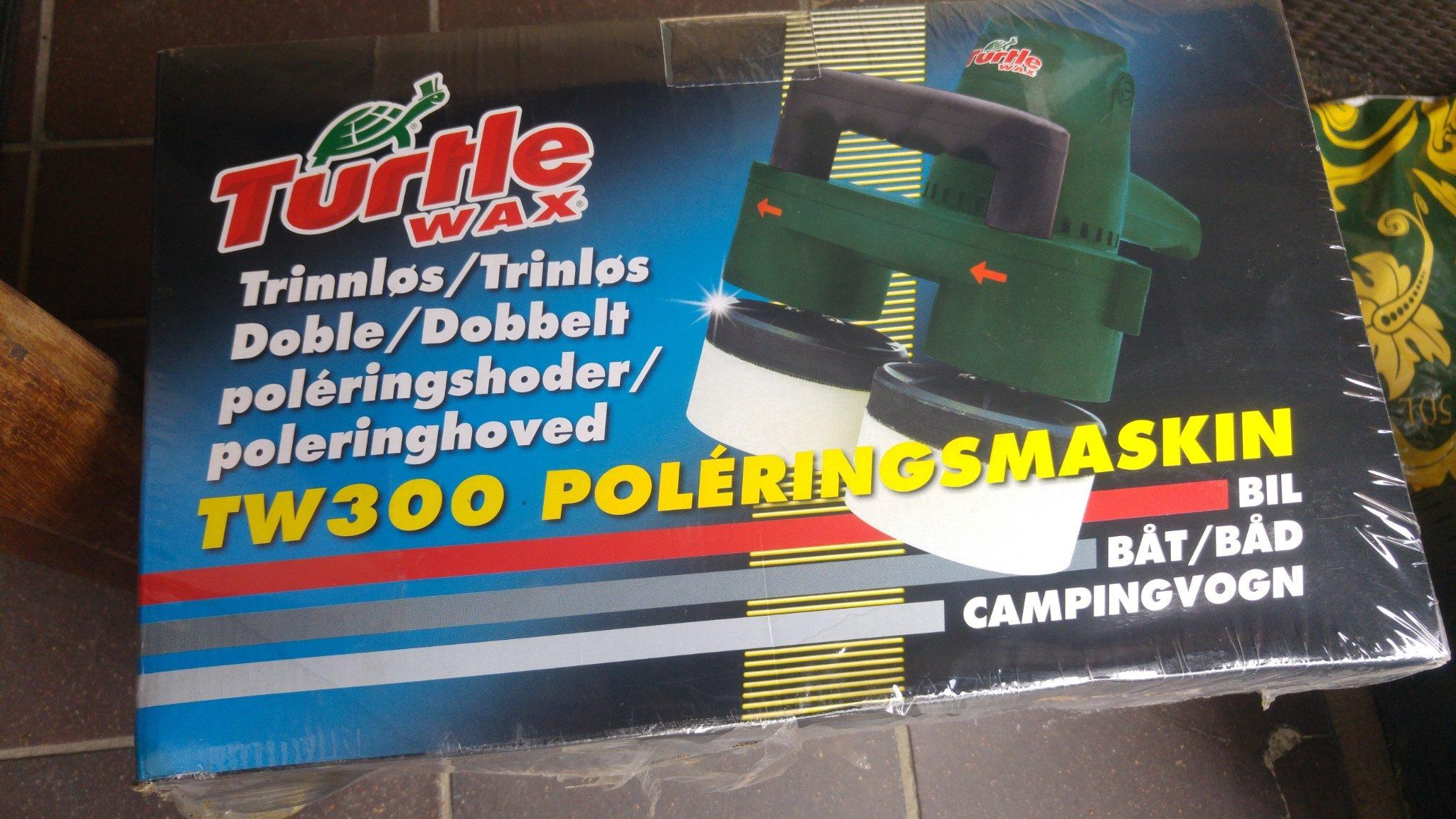 Berömda Polermaskin Turtle wax tw300 till båt eller bil (358267226) ᐈ Köp GX-88