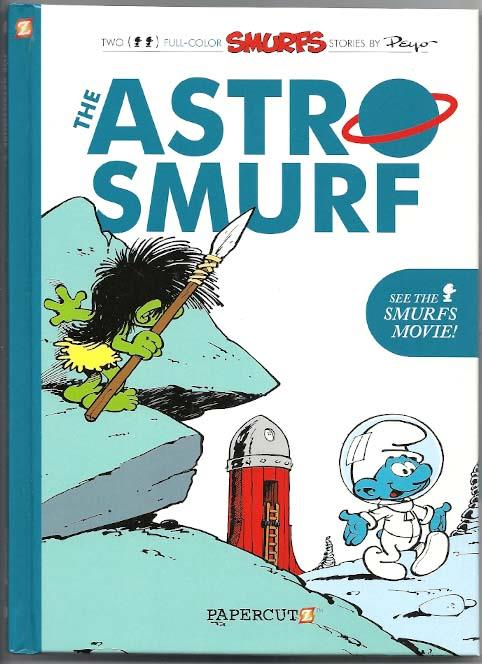 Smurfs GN Volume 7 - The Astro Smurf HC NM Ny Import