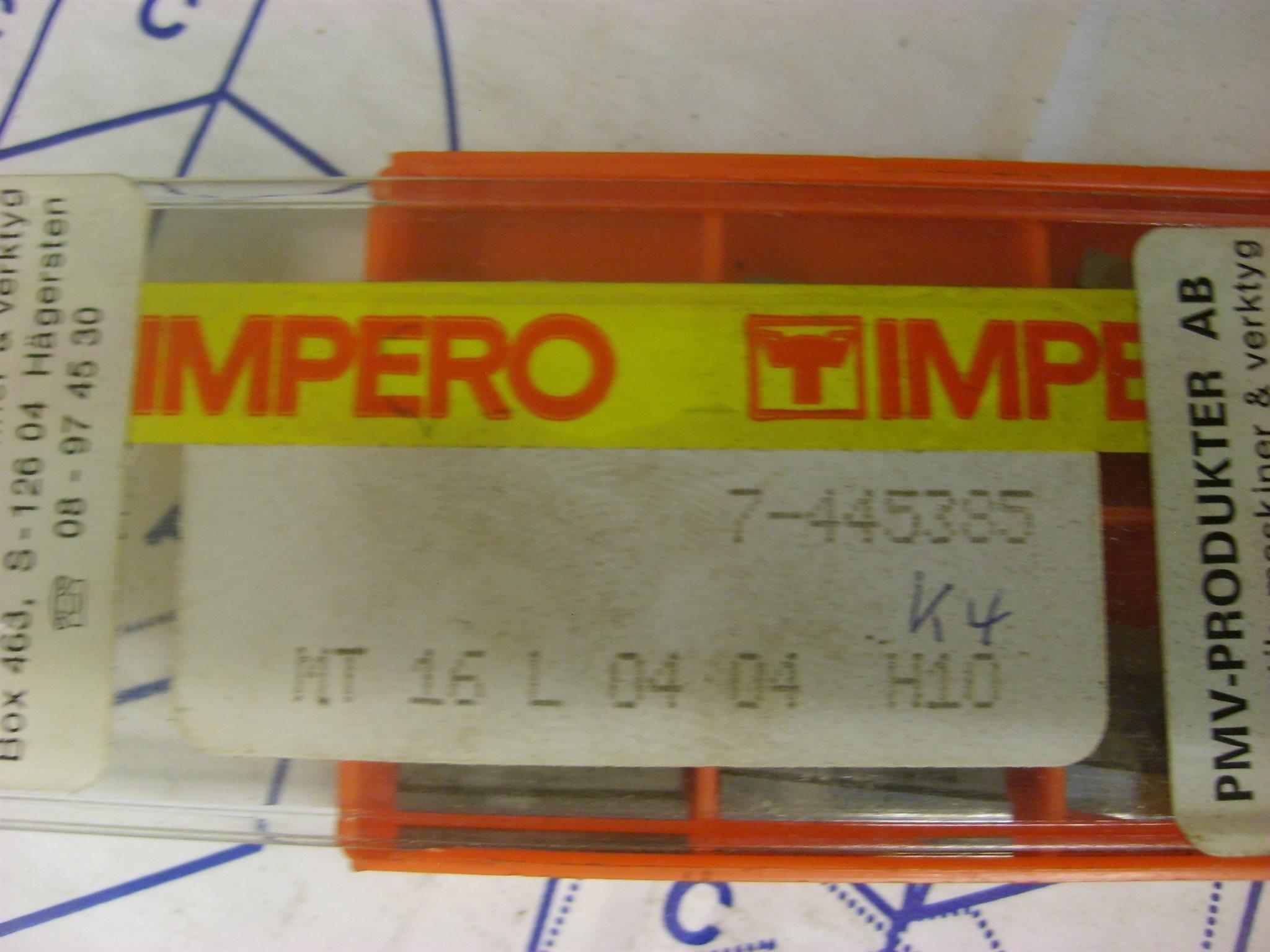 NYA IMPERO HM HM HM PLATTOR 1380b8