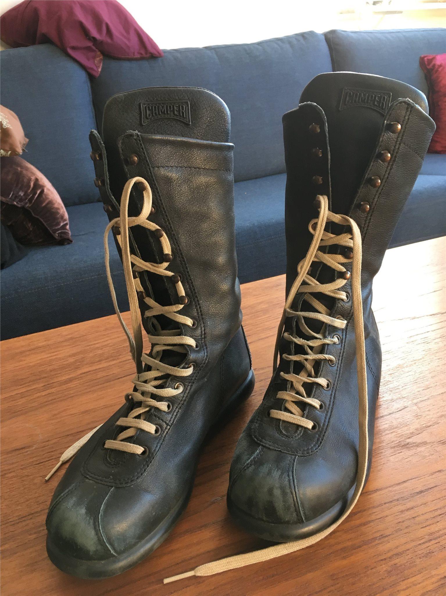 Kängor från Camper i mjukt skinn läder strl 36 (340519267) ᐈ Köp på ... 5766859001757
