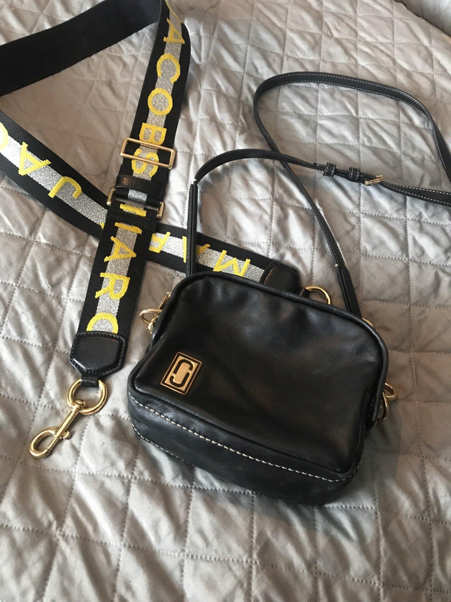 Marc Jacobs väska med extra rem.