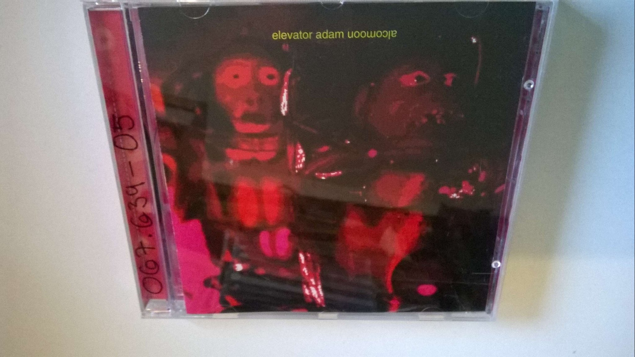 Elevator Adam - Alcomoon, CD