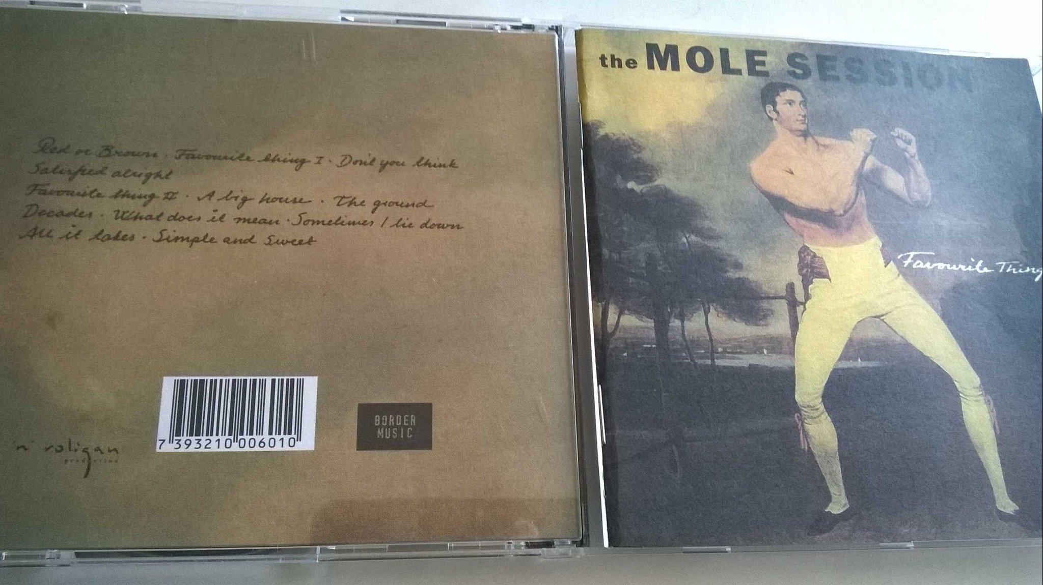 The Mole Session ... Favourite Thing, CD, rare!