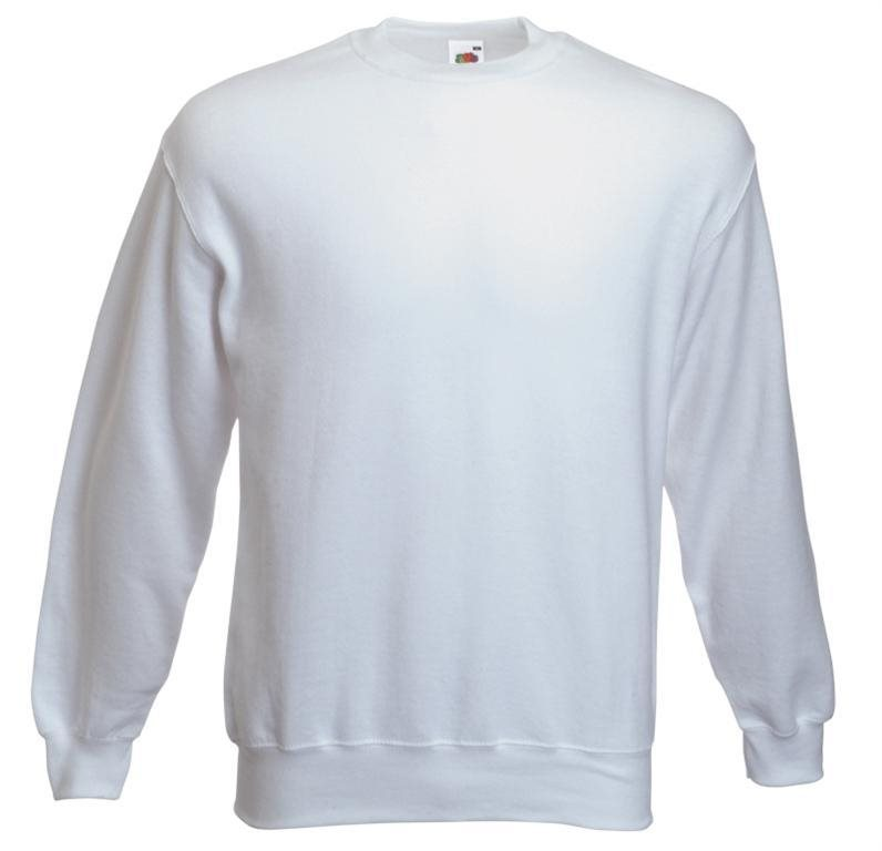 Sweatshirt F324NJ- vit storlek XXL