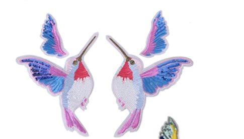 Tygmärke / Patch fågel fåglar
