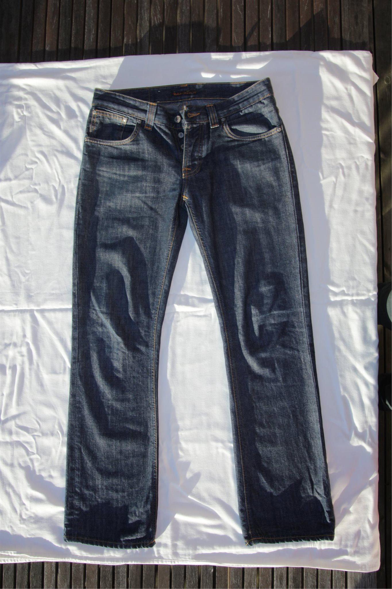 nudie jeans bootcut ola super jeans in dieser saison. Black Bedroom Furniture Sets. Home Design Ideas