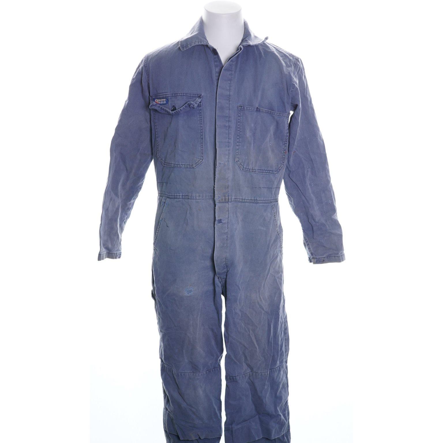 Sensationelle Blåkläder, Overall, Strl: C 48, Blå, Bomull (338568802) ᐈ Sellpy EH11