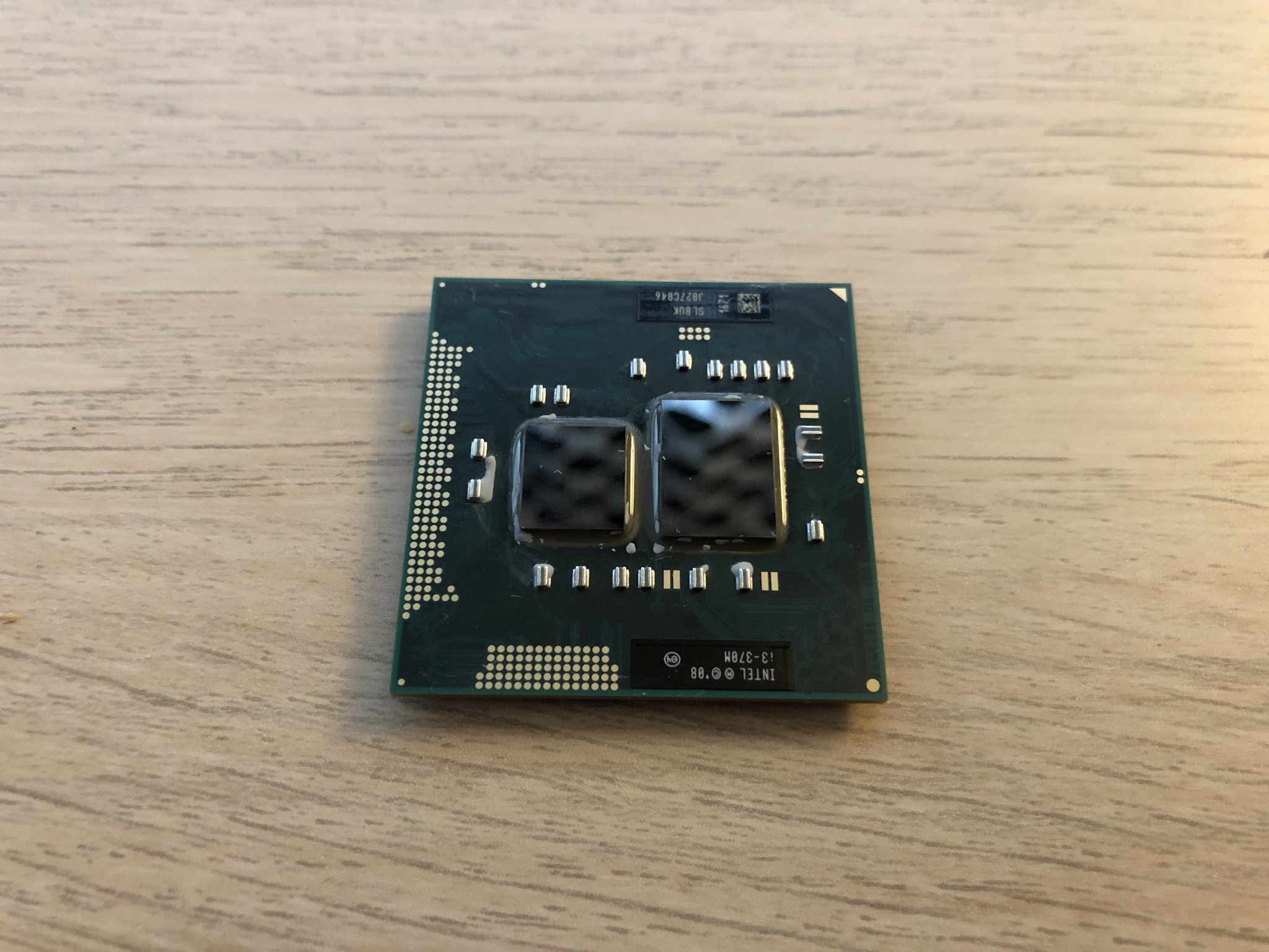 Intel Core i3-370M 3M SLBUK 2 Core Notebook Processor 2.4 GHz