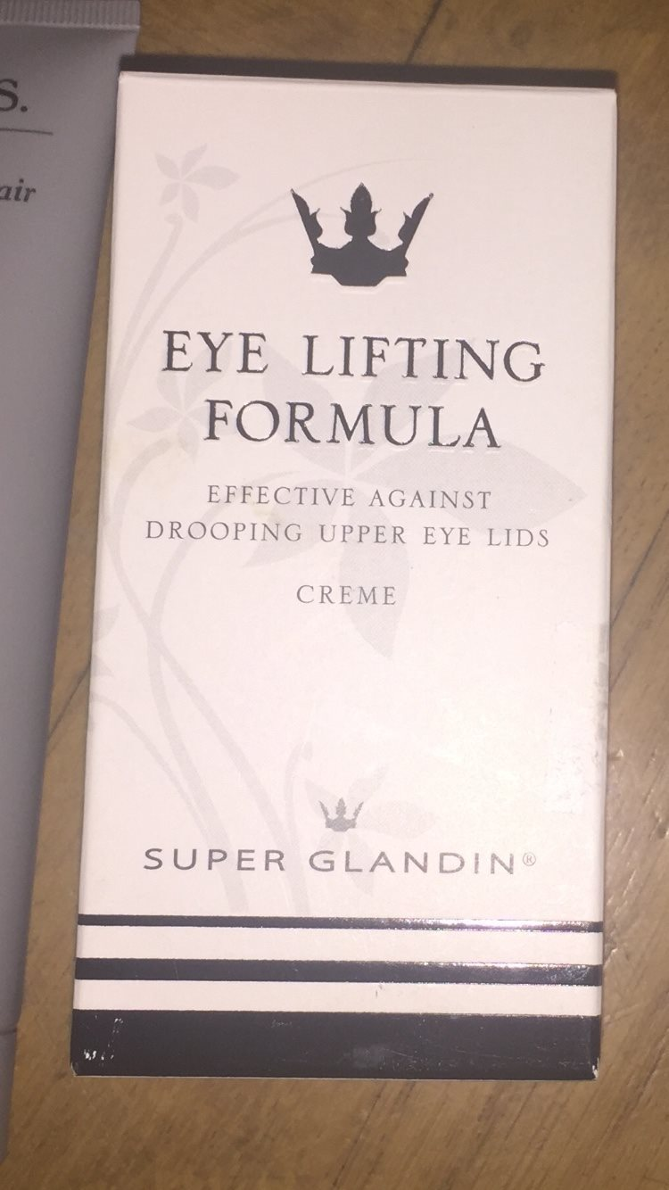 super glandin eye lifting formula review